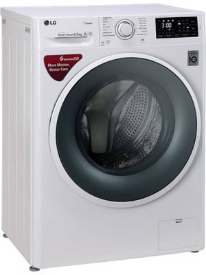 LG FHT1265SNW 6.5 kg Fully Automatic Front Load Washing Machine