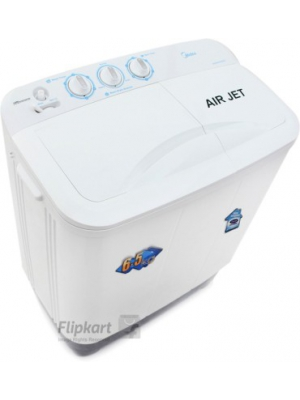 Midea 6.5 kg Semi Automatic Top Load Washing Machine(MWMSA065M02)