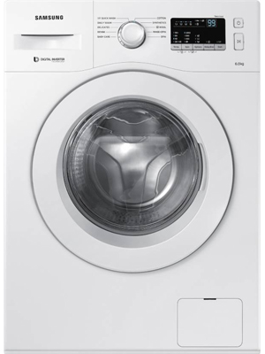 Samsung 6 kg Fully Automatic Front Load Washing Machine White (WW60M206LMW/TL)