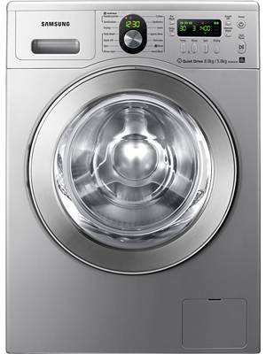 SAMSUNG 8 kg Fully Automatic Front Load Washing Machine (WD8804RJN)