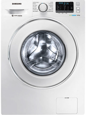 Samsung 8 Kg Fully Automatic Front Load Washing Machine (WW80J5210IW)