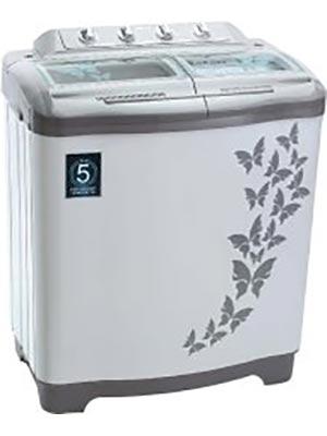 Vestar 7.2kg VWVTT72VPBG Semi Automatic Washing Machine