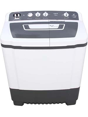Videocon 7.6 kg Semi Automatic Top Load Washing Machine (Virat VS76P13)