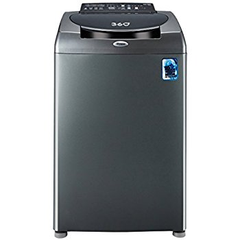 Whirlpool 7.5 kg Fully Automatic Top Load Washing Machine Grey (360° Ultimate Care)