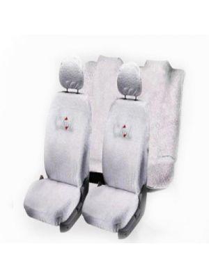 Dressrosa Cotton Car Seat Cover For Hyundai Xcent Front Detachable