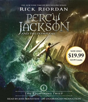 The Lightning Thief: Percy Jackson and the Olympians: Book 1English, compac disc, Rick Riordan
