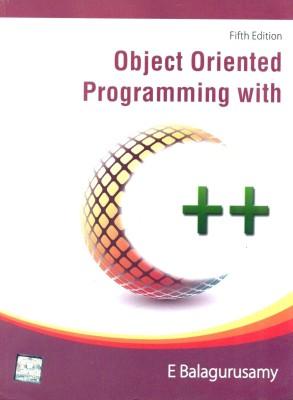 Object Oriented Programming With C++ 5th EditionEnglish, Paperback, E Balaguruswamy