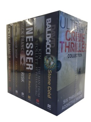 Ultimate Crime Thriller Collection Set of 6 BooksEnglish, Paperback, David Hosp