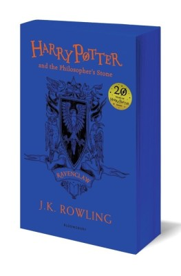 Harry Potter and the Philosopher's Stone - RavenclawEnglish, Paperback, J. K. Rowling