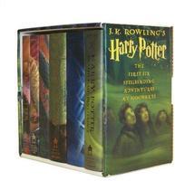 Harry Potter Hardcover Boxed Set, Books 1-6