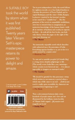 Suitable BoyEnglish, Paperback, Vikram Seth
