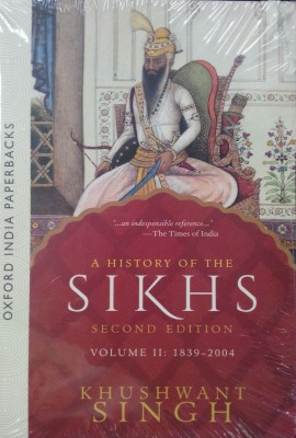 A History of the Sikhs, Volume 2 : 1839-2004 2nd EditionEnglish, Paperback, KHUSHWANT SINGH