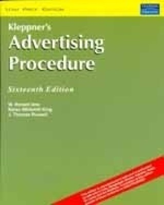 Kleppner's Advertising Procedure 16th Edition 16th EditionEnglish, Paperback, Lane