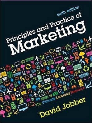 Principles and Practice of Marketing 6th EditionEnglish, Paperback, David Jobber