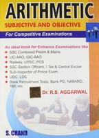 Arithmetic For Competitive Examinations English