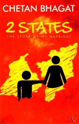 2 StatesEnglish, Paperback, Chetan Bhagat