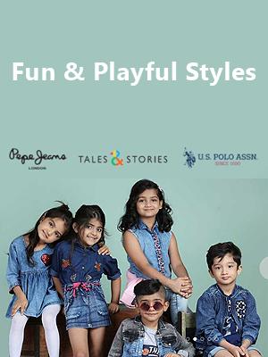 Fun & playful styles: Kid