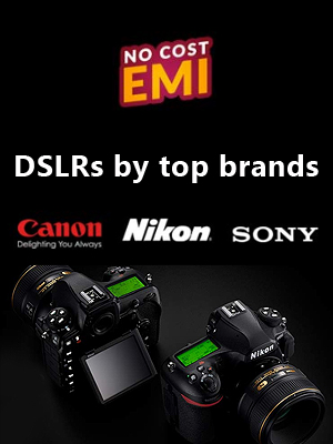 DSLRs by Top Brands