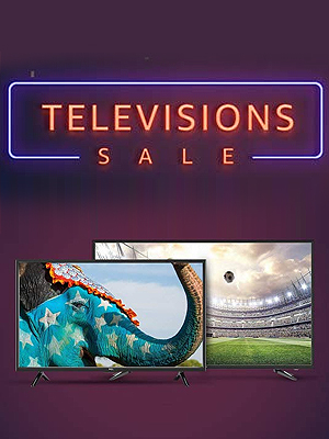 Television Sale: Up To 45% Off