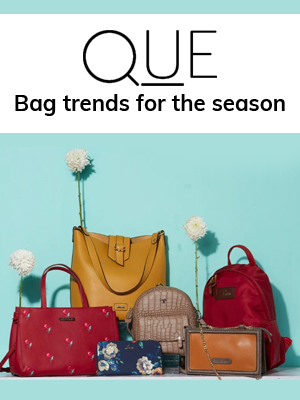 QUE Bag trends for the season