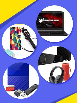 Electronics & Accessories - No Kidding Day Offer