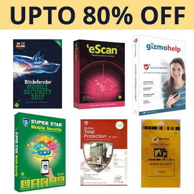 Get Upto 80% Off On Mobile Security