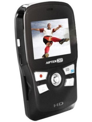 Aiptek 3D i2 Camcorder Camera(Black)