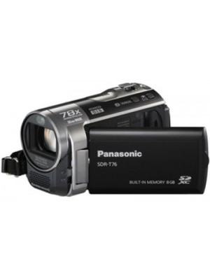 Panasonic SDR-T76 Camcorder Camera(Black)