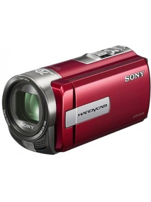 Sony DCR-SX45E Camcorder Camera(Red)