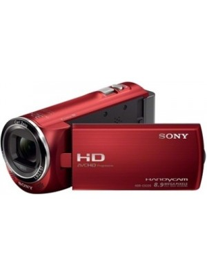 Sony HDR-CX220E Camcorder Camera(Red)