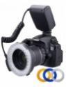 Polaroid Polaroid 48 Macro LED Ring Flash PLMRFU & Light Includes 4 Diffusers (Clear, Warming, Blue,