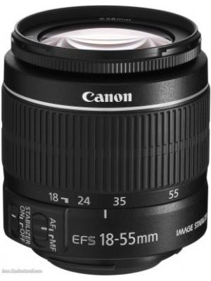 Canon EF-S 18-55mm f/3.5-5.6 IS II Lens(Black, Canon EF-S 18-55mm f/3.5-5.6 IS II)