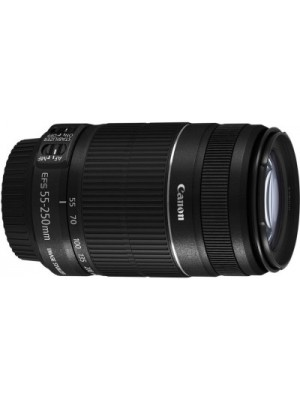 Canon EF-S 55 - 250 mm f/4-5.6 IS II Lens(Black, Telephoto Zoom Lens)
