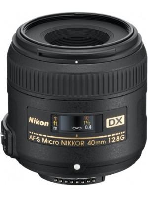 Nikon AF-S DX Micro NIKKOR 40mm f/2.8G Lens(Micro Lens)
