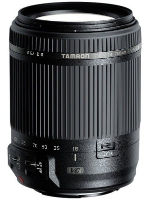 Tamron B018 18 - 200 mm F/3.5 - 6.3 Di II VC For Nikon DSLR Camera Lens(Black, 18 - 200)