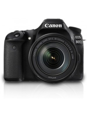 Canon 80D DSLR Camera Body with 18-135 IS USM(Black)