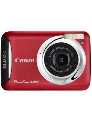 Canon A495 Mirrorless Camera(Red)