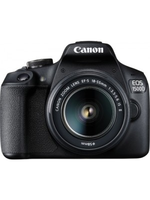 Canon EOS 1500D DSLR Camera Dual kit with EF-S 18-55mm and 55-250mm lens