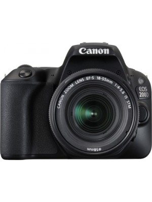 Canon EOS 200D DSLR Camera Body with EF-S18-55 IS STM lens