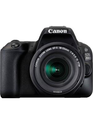 Canon EOS 200D DSLR Camera EF-S18-55 IS STM+ EF-S 55-250 mm IS II