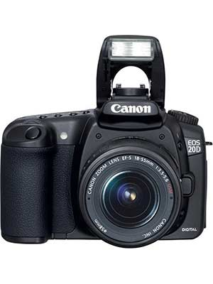 Canon EOS 20D DSLR Camera with EF-S 18-55mm f/3.5-5.6 Lens