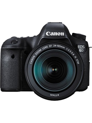 Canon EOS 6D Kit III (EF 24-105 IS STM) DSLR camera