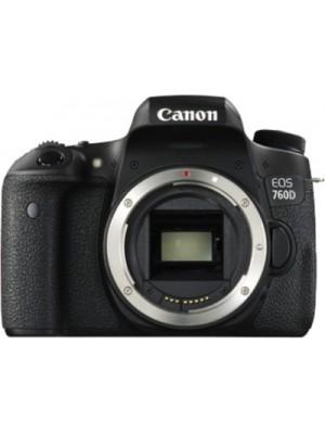 Canon EOS 760D DSLR Camera (Body only)(Black)