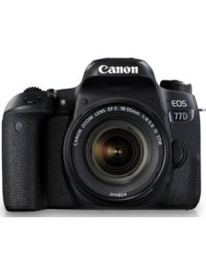 Canon EOS 77D DSLR Camera Kit (EF-S18-55 IS STM)(Black)