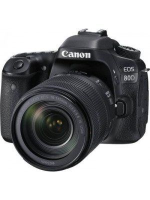 Canon EOS 80D DSLR Camera Body with Single Lens 18-135 IS USM