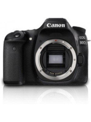 Canon EOS 80D(W) DSLR Camera (Body only)(Black)