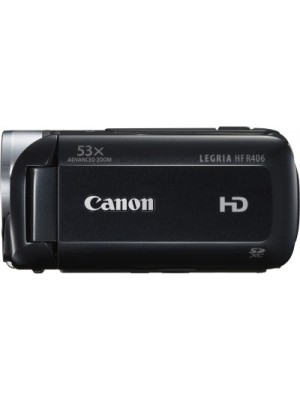 Canon Legria HF R406 Mirrorless Camera(Black)