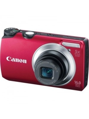 Canon PowerShot A 3300 IS Mirrorless Camera(Red)