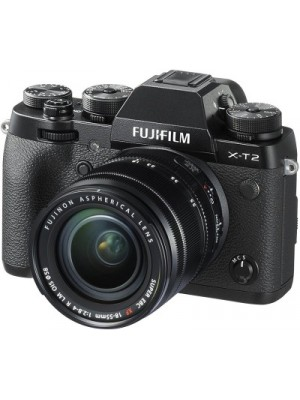 Fujifilm X-T2 with 18-55 mm F2.8-4.0 R LM OIS Lens Mirrorless Camera Kit