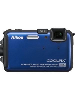 Nikon Coolpix AW100 Mirrorless Camera(Blue)